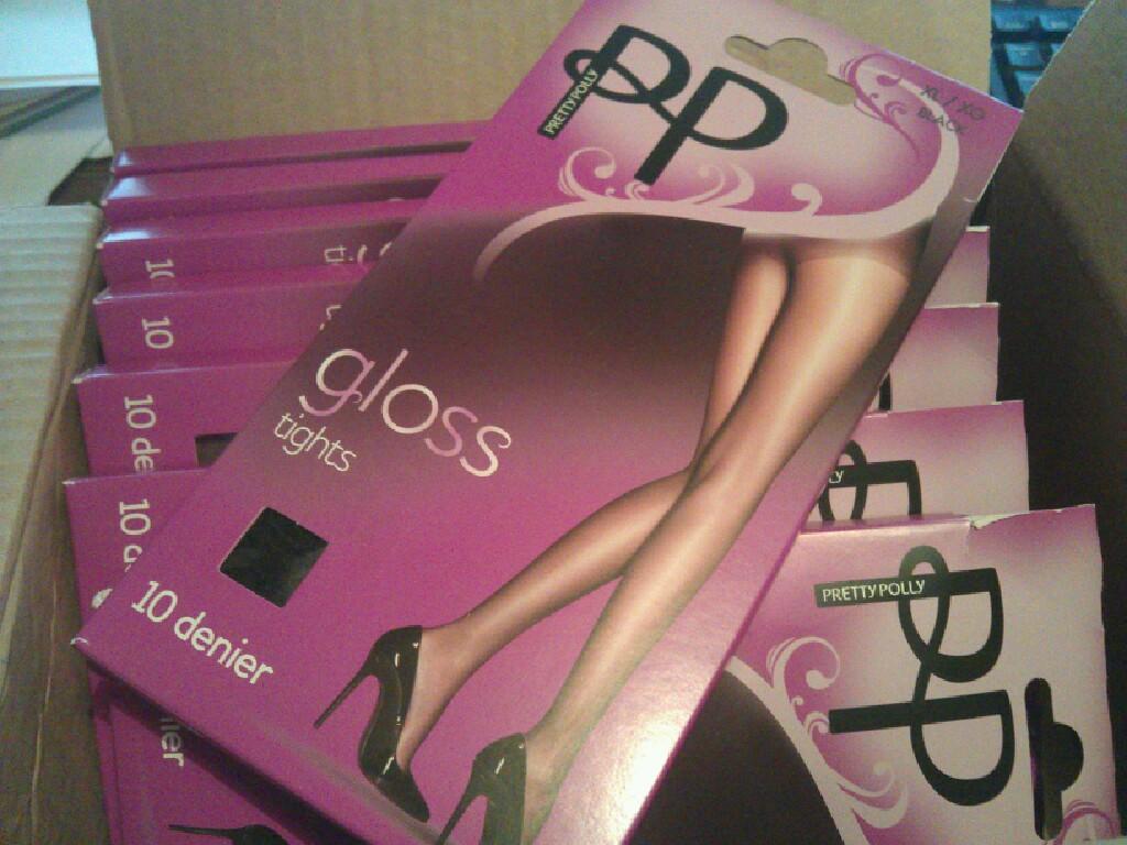Pretty Polly Gloss 10 Denier Tights