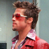 Brad Pitt Fight Club Sunglasses