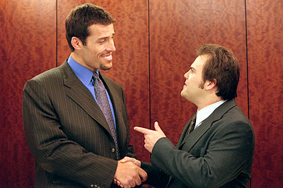 Tony Robbins and Jack Black in Shallow Hal