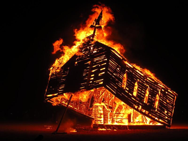 ChurchTrapFire